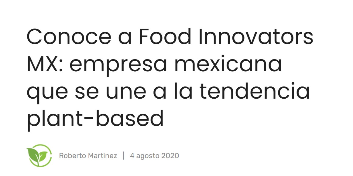 conoce food innovators